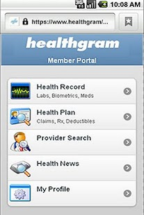 Healthgram Mobile - screenshot thumbnail