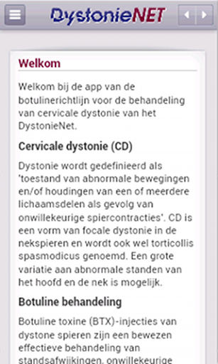 DystonieNet
