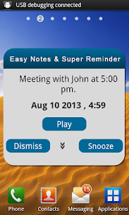 Easy Notes & Super Reminder - screenshot thumbnail