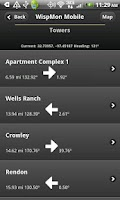 Screenshot of Wispmon Mobile