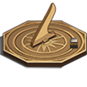 Qibla Compass Sundial Lite icon