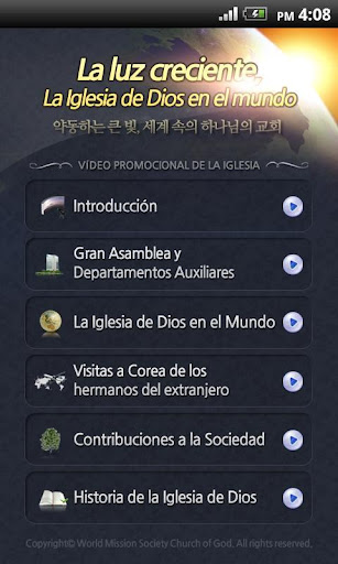 Church of God Spanish