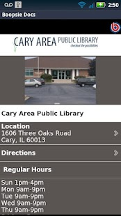 Cary Area Library - screenshot thumbnail