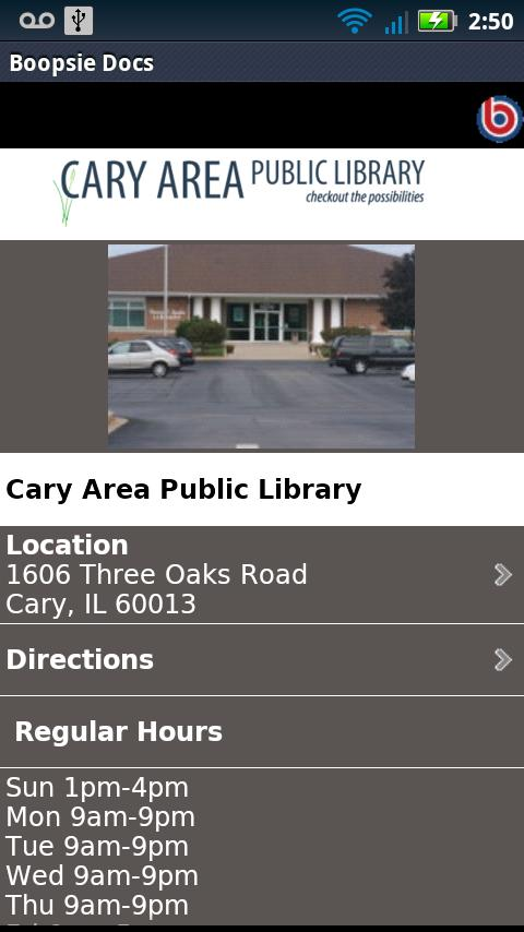 Cary Area Library - screenshot