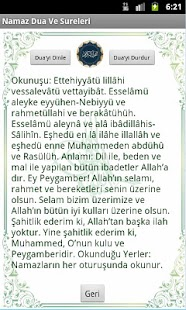 Namaz Dua Ve Sureler(Sesli) - screenshot thumbnail