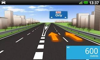 Screenshot of TomTom Western Europe