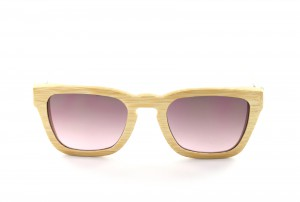 0080240658 Gafas de sol de madera Woodys Barcelona Lady Marian (marrón, rojo)