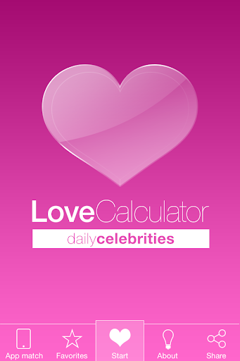Love Calculator Celebrity