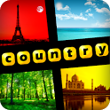 4 Pics 1 Word - Countries icon