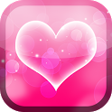 Pink Heart Live Wallpaper icon