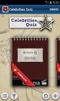 Screenshot of Celebrities Quiz