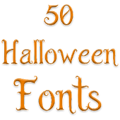 Halloween Fonts for FlipFont