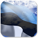 3D Estonia Flag + icon