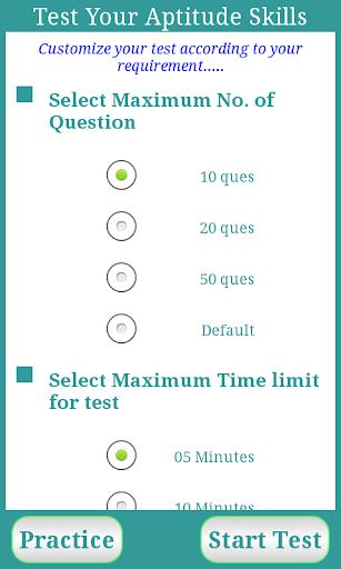 Test Your Aptitude Skills