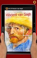 Screenshot of Art of Vincent Van Gogh
