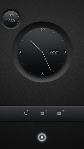 BIG knob clock UCCW Skin