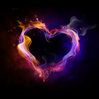 Fire Heart icon
