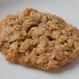 Gluten Free Oatmeal Lace Cookies.
