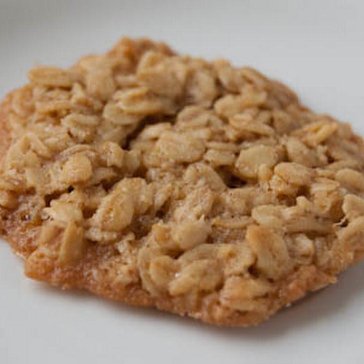 Gluten Free Oatmeal Lace Cookies Recipe