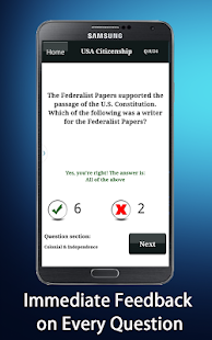 【免費教育App】US Citizenship Test Prep 2014-APP點子