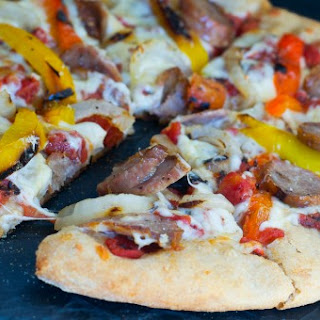 Sausage and Pepper Pizza.