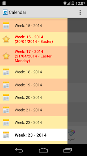 Collection calendar LITE - screenshot thumbnail