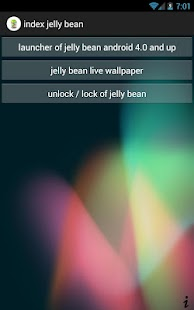 index jelly bean- screenshot thumbnail