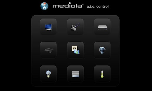 mediola® a.i.o. remote - screenshot thumbnail