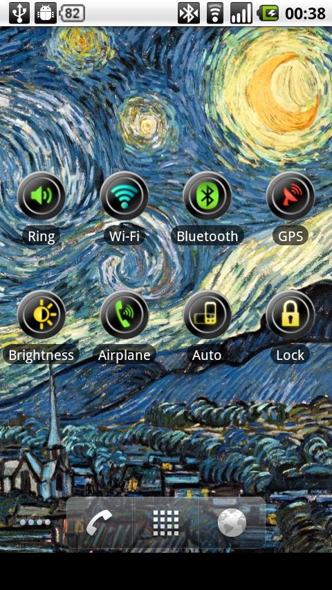 Bluetooth Toggle Widget - screenshot