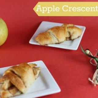 Apple Pie Crescent Bites.