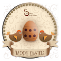 Active – Happy Easter Theme logo