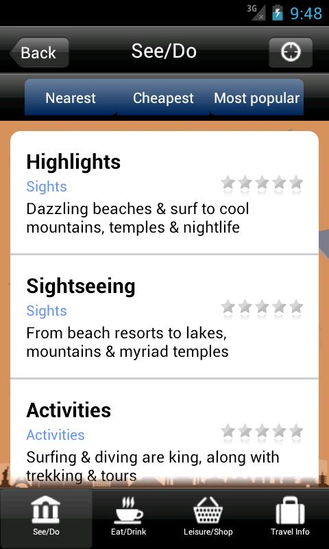Bali Gulliver's Travel Guide- screenshot