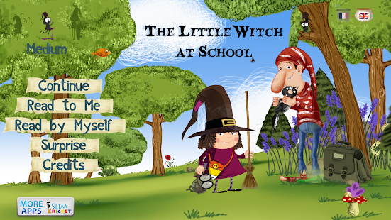 The Little Witch at School- screenshot thumbnail