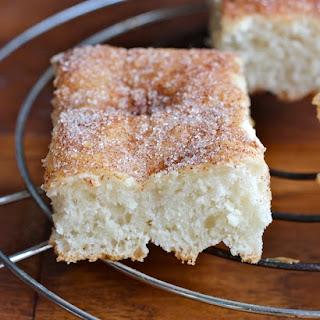 Cinnamon-Sugar Focaccia Bread.