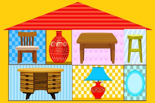房子对象益智游戏