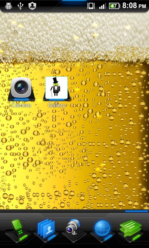 Bubbly Beer Live Wallpaper - screenshot