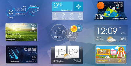 Aero weather clock widget ◕‿◕ 4.8.2.a_release screenshot 611346
