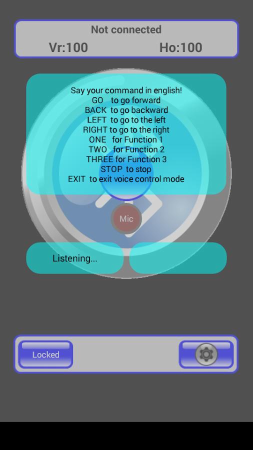 I-Racer advanced BT controller - screenshot