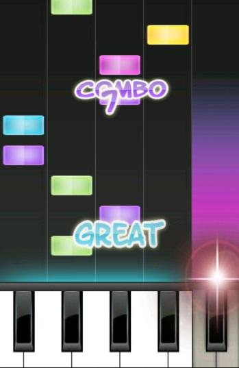 piano dance - screenshot