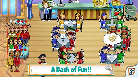Diner Dash Deluxe - screenshot thumbnail