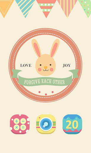 Easter GO LAUNCHER THEME