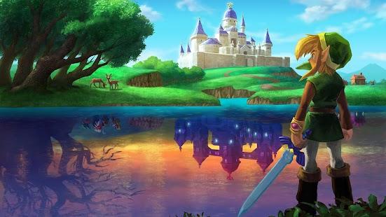 eXperiance theme Zelda Legend