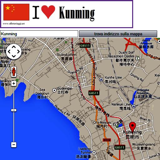 Kunming map