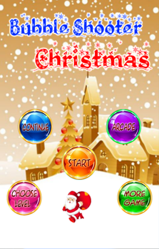 Bubble Shooter: Xmas Santa