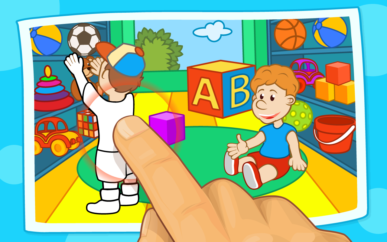 Preschool Games Coloring Book - screenshot