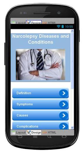 Narcolepsy Disease Symptoms
