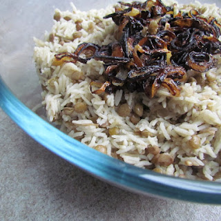 Mujaddara - Lebanese Lentil Rice Recipe