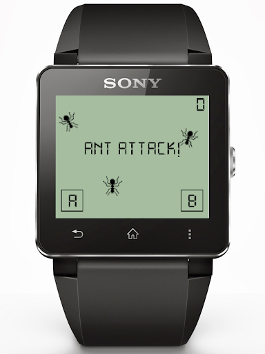 Ant Attack for Smartwach 2