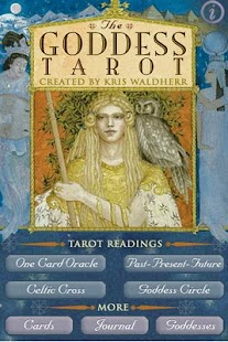 Goddess Tarot - screenshot thumbnail