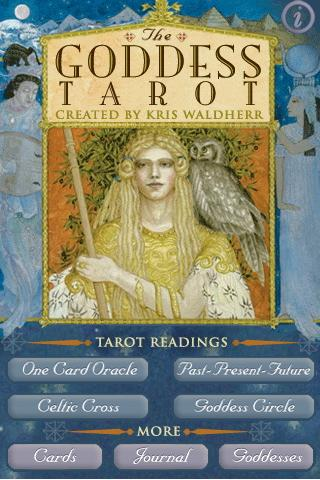 Goddess Tarot - screenshot